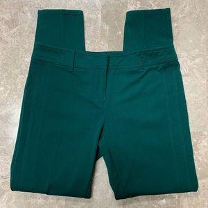New York & Co Green Side Panel Pants